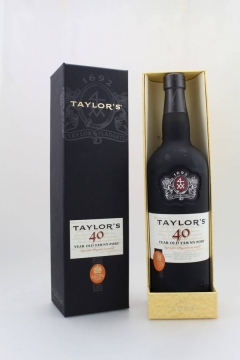 TAYLOR'S 40YEARS LUXUSBOX 75CL