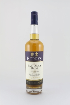 BERRYS RUM BARBADOS 10YEARS 70CL