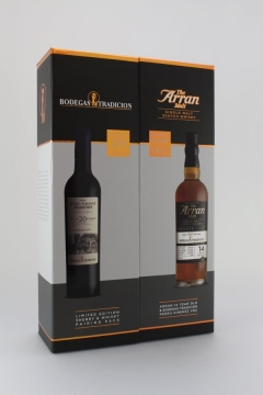 ARRAN WHISKY MEETS SHERRY PEDRO XIMENE..