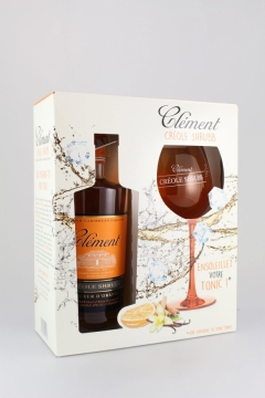 CLEMENT SHRUBB + 1 GLAS 70CL
