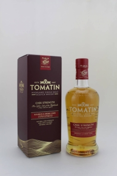 TOMATIN CASK STRENGTH 57.5% 70CL