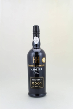 MADEIRA SERCIAL 2001 SINGLE HARVEST 75CL