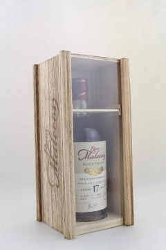 MALECON RARE PROOF 17 YEARS BATCH 2002 70CL