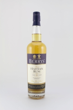 BERRYS RUM HAITI 9YEARS 70CL