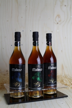 MALTECO OLD DISPLAY-TRIO 3X70CL