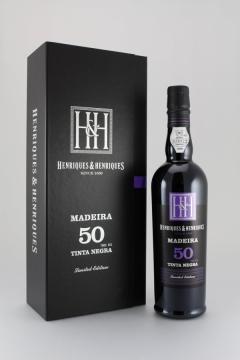 MADEIRA TINTA NEGRA 50 YEARS 50CL