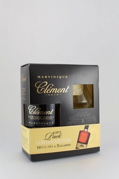 CLEMENT 10 ANS + 2 GLAESER 70CL