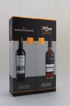 ARRAN WHISKY MEETS SHERRY PALO CORTADO 2X50CL