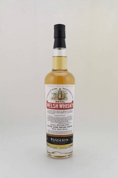 PENDERYN ICONS OF WALES 6 ROYAL WELSH WHISKY 70CL